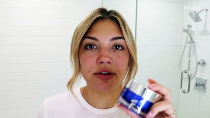 Giannina Gibelli's Nighttime Skincare Routine | Go To Bed With Me