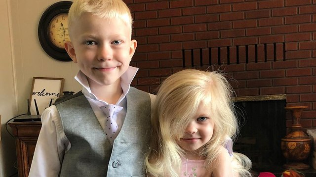 Six-Year-Old Saves Sister From Dog Attack