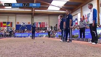 Championnats d'Europe 2017 Triplette Hommes