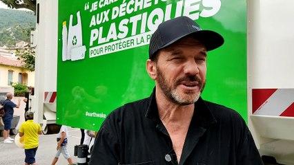 """Samuel Le Bihan: """"Pour arriver à lutter contre les déchets plastiques il faut leur donner une valeur"""""""