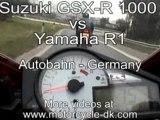 Street Racing Bikes- Suzuki GSXR 1000 vs. Yamaha R1