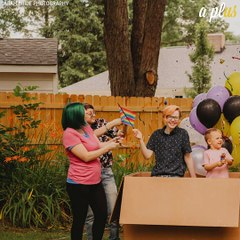 Parents Throw Gender Reveal Party For Transgender Son