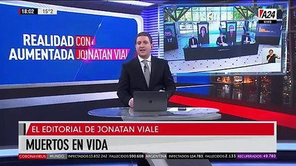 """""""Muertos en vida"""": el editorial de Jonatan Viale"""