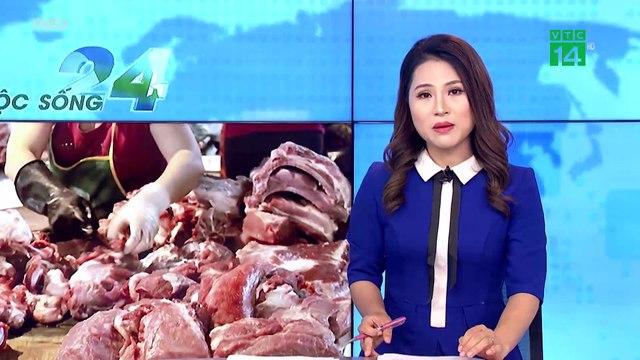 Thực hư việc hơn 54% mẫu thịt tại Hà Nội bị ô nhiễm vi sinh vật | VTCVTC | Trong 6 tháng đầu năm 2020, Cục Thú y đã kiểm tra, giám sát an toàn thực phẩm 19 cơ sở giết mổ và 19 cơ sở kinh doanh thịt lợn. Đáng chú ý, có tới 54,54% lượt mẫu thịt tại hai tỉnh