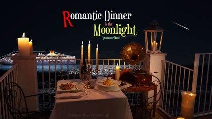 Romantic Dinner in the Moonlight | ASMR | Summertime
