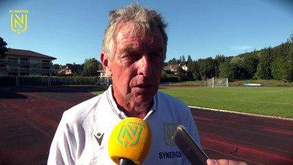 FC Nantes - Nyon : la réaction de Christian Gourcuff