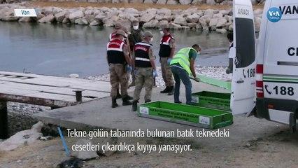 Van Gölü'nde Ölü Sayısı 58'e Çıktı