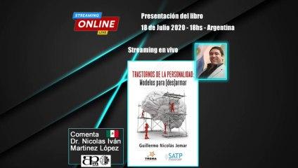 Presentación del Libro TRASTORNOS DE LA PERSONALIDAD: Modelos para (des) armar emitida en vivo