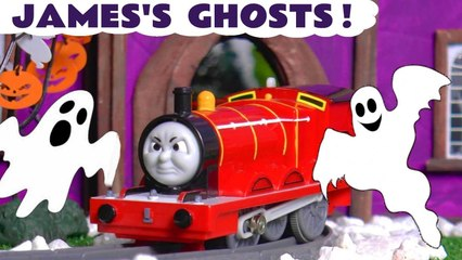 James Ghost from Thomas and Friends Spooky Toy Story with the Funny Funlings and Thomas the Tank Engine in this Family Friendly Full Episode English Halloween for Kids