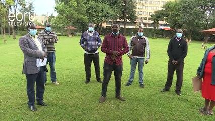 Uasin Gishu Health Workers Demand Health CEC Sacked