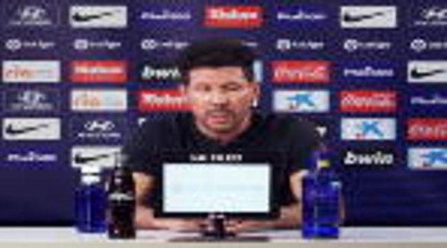 """Liga - Simeone : """"L'équipe a travaillé dur et revient en forme"""""""