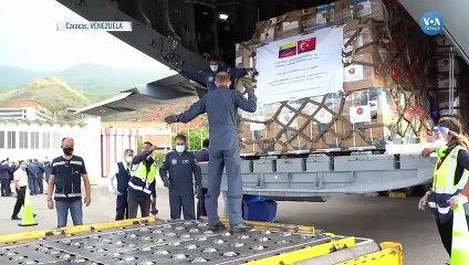 Türkiye'den Venezuela'ya 15 Ton Tıbbi Malzeme