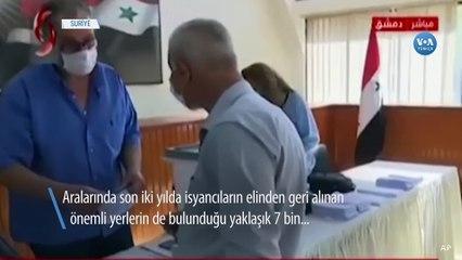 Suriye'de Tartışmalı Seçim