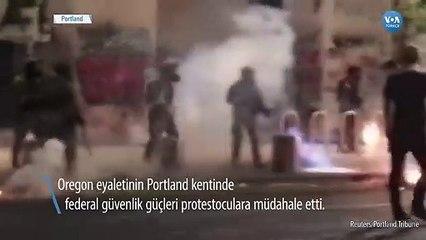 Portland'da tepkilere rağmen federal güvenlik güçleri hala işbaşında