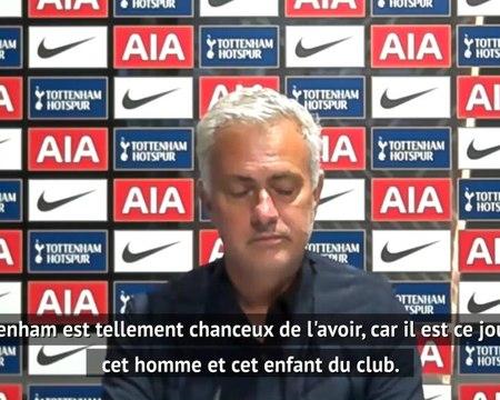 """37e j. - Mourinho : """"Kane ne serait sans doute pas aussi spécial dans une autre équipe"""""""