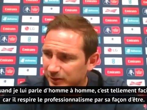 """Demi-finales - Lampard élogieux envers Giroud : """"Il respire le professionnalisme"""""""