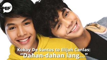 """Promise ni Kokoy de Santos kay Elijah Canlas kung magki-kiss sila: """"Passionate."""""""