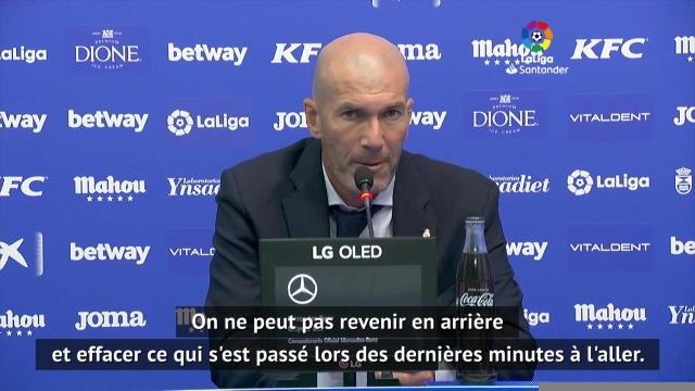 """Real Madrid - Zidane : """"Nous avons besoin de repos avant de penser à Manchester City"""""""