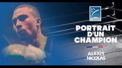 Portrait de champion :  Alexis  NICOLAS