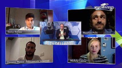 Enrico Stefano e Maurizio Politi a CITTACELESTE TV