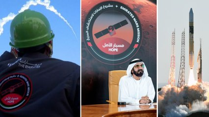 UAE's First Ever Mission to Mars Launched | Oneindia Telugu