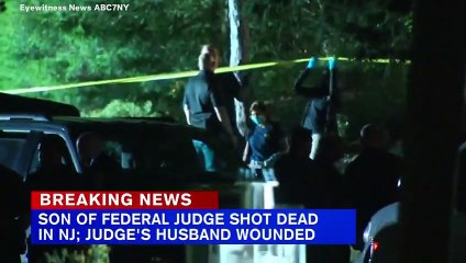 New Jersey Federal Judges' Son Killed And Husband Injured In Shooting At Their Home