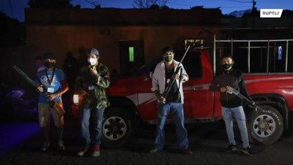 غواتيمالا: دوريات مسلحة من المدنيين لمواجهة الكورونا !!