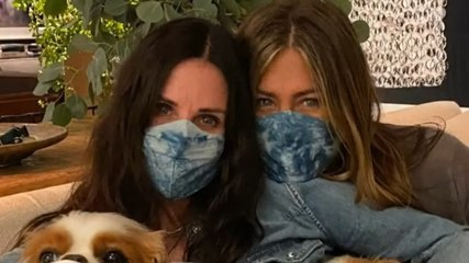 Jennifer Aniston and Courteney Cox Shared Their Friend's COVID-19 Battle