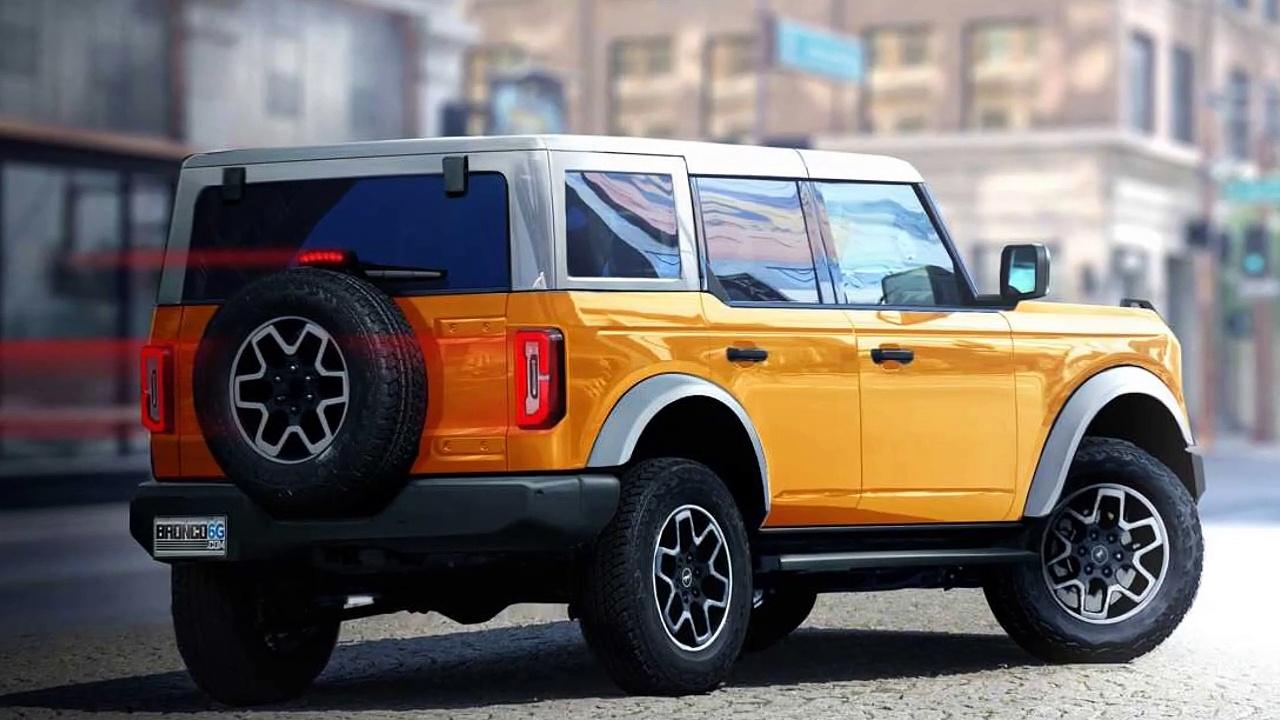 Ford revela novos modelos do Bronco; SUV será vendido no Brasil