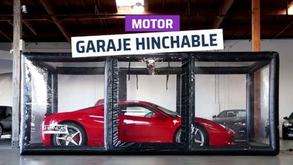 [CH] Garaje hinchable para proteger tu coche o moto
