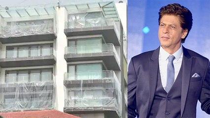 Shahrukh Khan ने आखिर क्यों अचानक अपने घर 'Mannat' को प्लास्टिक से ढका, ये है असली वजह | Boldsky