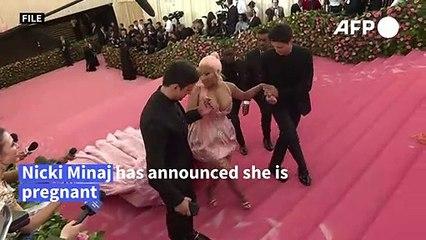 Nicki Minaj announces pregnancy