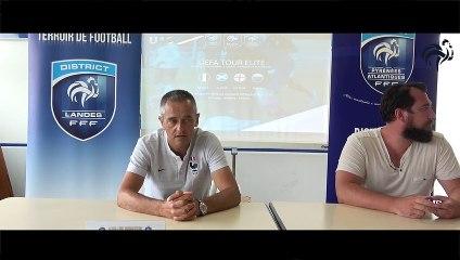 Conférence de Presse - Jean-Luc Vannuchi - Sélectionneur Équipe de France U19