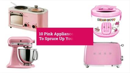 10 Pink Kitchen Appliances To Spruce Up Your Kitchen | Yummy PH