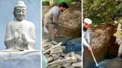 Pak నీచ బుద్ధి.. Islam కు సంబంధించినది కాదని 1700 ఏళ్ళ నాటి పురాతన Buddha విగ్రహం ధ్వంసం!