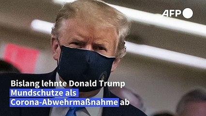 """Sinneswandel bei Trump: Tragen von Masken """"patriotisch"""""""
