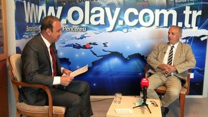 Uludağ Üniversitesi Tıp Fakültesi Dekanı Prof. Dr. Ekrem Kaya, www.olay.com.tr'nin yayınına katıldı