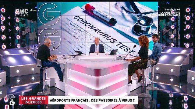 Les aéroports français sont-ils des passoires à virus ? - 21/07