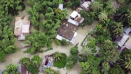 Le centre du Bangladesh inondé après de fortes pluies