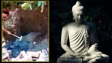 Rare Buddha statue vandalized in Pakistan