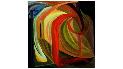 """CONTEMPLER : Méditation guidée à partir de l'œuvre """"Composition"""" d'Otto Freundlich   Musée d'Art Moderne de Paris"""