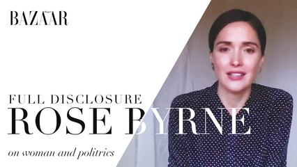 Full Disclosure with Rose Byrne