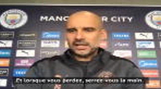 """Man City - Guardiola : """"Je respecte Arsenal sur le terrain, pas en dehors"""""""