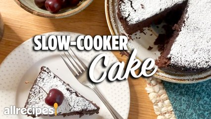 How to Make Cake in a Slow Cooker