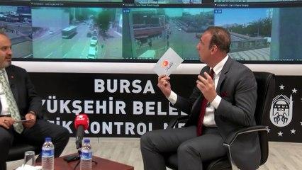 Bursa trafiğinde devrim! Özdal sordu Başkan Aktaş anlattı...