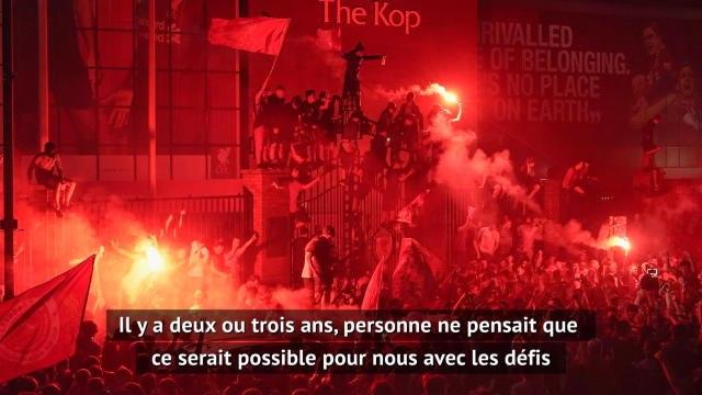 """Liverpool - Klopp : """"Il y a deux ou trois ans, personne ne pensait que ce serait possible"""""""