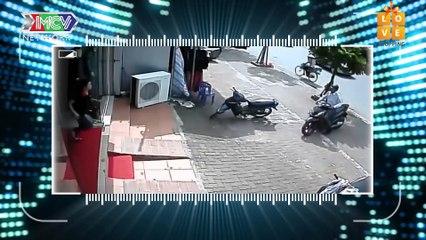 CAMERA CẬN CẢNH | Bốn Tên Trộm Liều Lĩnh PHÁ CAMERA AN NINH Chạy Té Khói Khi Bị Phát Hiện