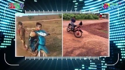 CAMERA CẬN CẢNH | HIỂM HỌA Khôn Lường Khi Trẻ Em Tự Đi Xe Máy