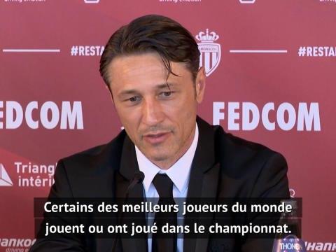 """Monaco - Kova? : """"Je dois améliorer ma connaissance sur certains clubs de L1"""""""