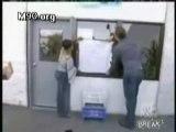 Video au travers vitre Criss Angel -